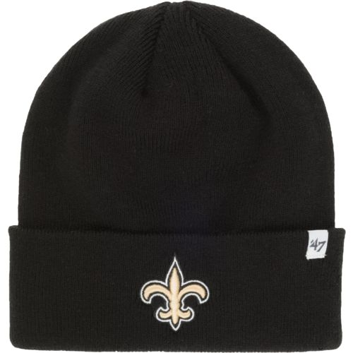'47 Adults' New Orleans Saints Raised Cuff Knit