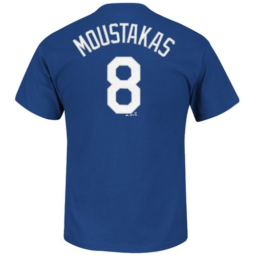 Majestic Men's Kansas City Royals Mike Moustakas #8 T-shirt