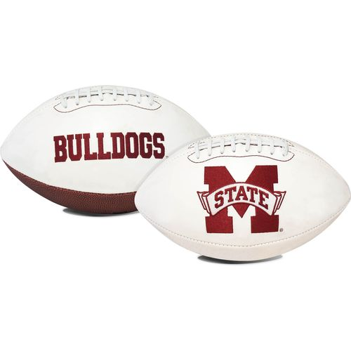 Jarden Sports Licensing Mississippi State University Signature Series Full Size Football with Autogr