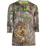 Under Armour® Kids' UA Scent Control Tech Realtree Xtra® Long Sleeve Top