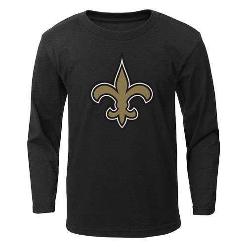 NFL Boys' New Orleans Saints Primary Logo Long Sleeve T-shirt - view number 1