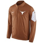 Nike Men's University of Texas Lockdown 1/2 Zip Jacket