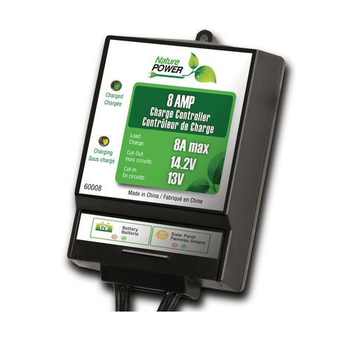 Nature Power 8 Amp Solar Charge Controller