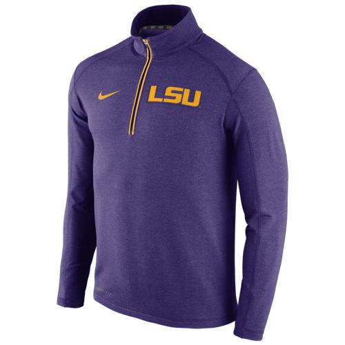 Nike™ Men's Louisiana State University Game Day 1/2 Zip Knit Top