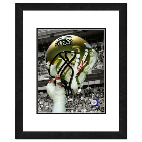 Photo File New Orleans Saints 8' x 10' Helmet Spotlight Photo