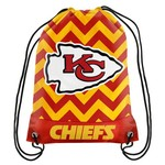 Forever Collectibles™ Kansas City Chiefs Chevron Drawstring Backpack