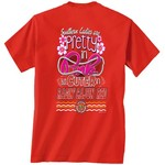 New World Graphics Women's University of Louisiana at Lafayette Cuter in Team T-shirt