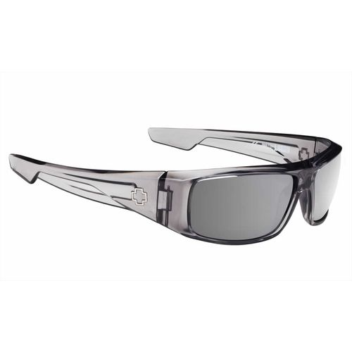 SPY Optic Adults' Logan Clear Smoke Happy Sunglasses