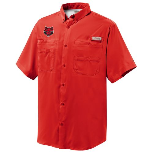 Columbia Sportswear™ Men's Arkansas State University Tamiami™ Short Sleeve Shirt