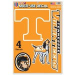 WinCraft University of Tennessee Multi-Use Decals 4-Pack