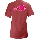 Three Squared Juniors' University of Louisville Quatrefoil State Monogram T-shirt