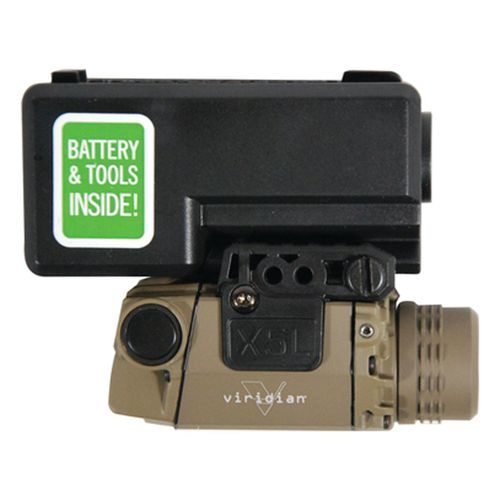 Viridian X Series® X5L-RS-FDE Green Laser Sight with