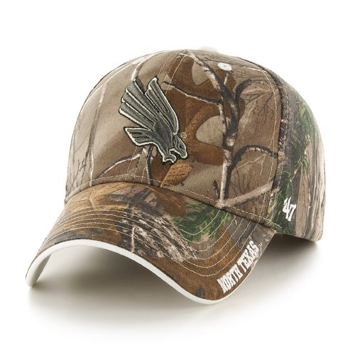 '47 Adults' University of North Texas Realtree Frost MVP Cap
