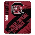The Northwest Company University of South Carolina Painted Fleece Throw - view number 1