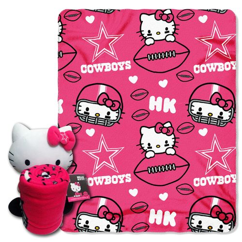 The Northwest Company Dallas Cowboys Hello Kitty Hugger
