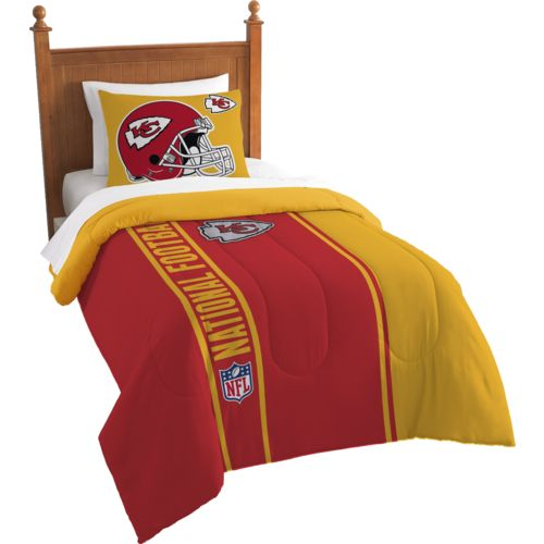 The Northwest Company Kansas City Chiefs Twin Comforter and Sham Set
