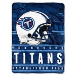The Northwest Company Tennessee Titans Stacked Silk Touch Throw