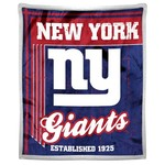 The Northwest Company New York Giants Old School Mink with Sherpa Throw