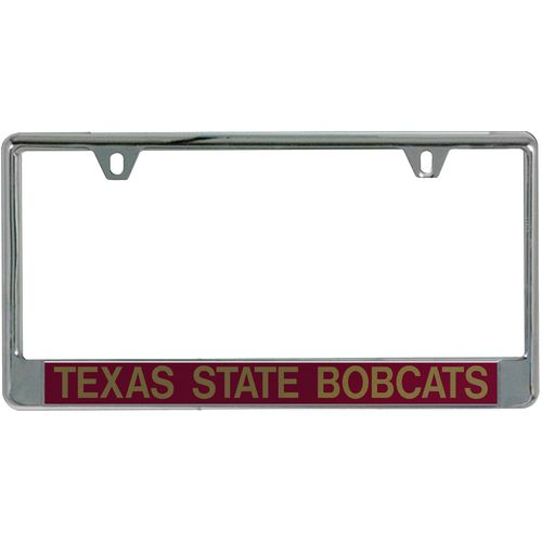 Stockdale Texas State University Mirror License Plate Frame