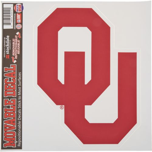 Stockdale University of Oklahoma Single Logo Decal