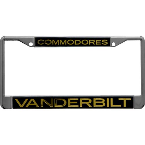 Stockdale Vanderbilt University Mirror License Plate Frame