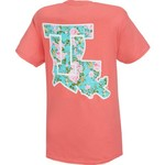 New World Graphics Women's Louisiana Tech University Floral T-shirt - view number 1