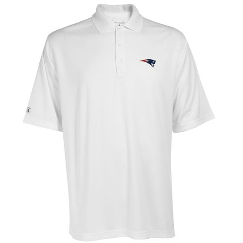 Antigua Men's New England Patriots Exceed Polo Shirt