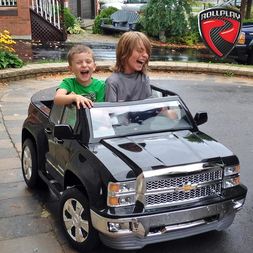 RollPlay Kids' Chevy Silverado 12V Ride-On Vehicle - view number 8