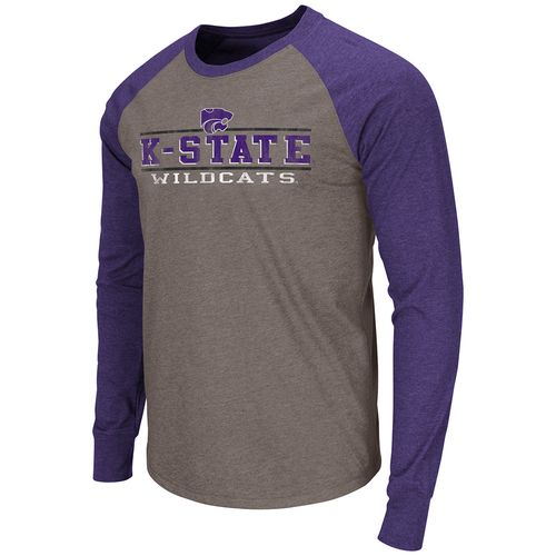 Colosseum Athletics Men's Kansas State University Tailback Long Sleeve T-shirt