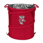 Logo™ University of Wisconsin Collapsible 3-in-1 Cooler/Hamper/Wastebasket - view number 1