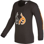 Realtree Kids' Antler Logo Long Sleeve T-shirt