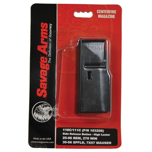 Savage 110/111 4-Round Replacement Magazine