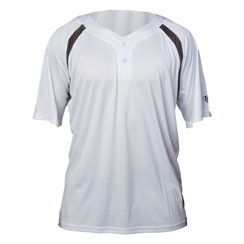 Louisville Slugger Boys' 2-Button Henley Game Jersey