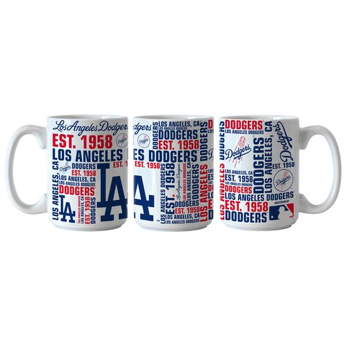 Boelter Brands Los Angeles Dodgers Spirit 15 oz. Coffee Mugs 2-Pack