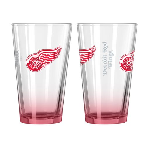 Boelter Brands Detroit Red Wings Elite 16 oz. Pint Glasses 2-Pack - view number 1