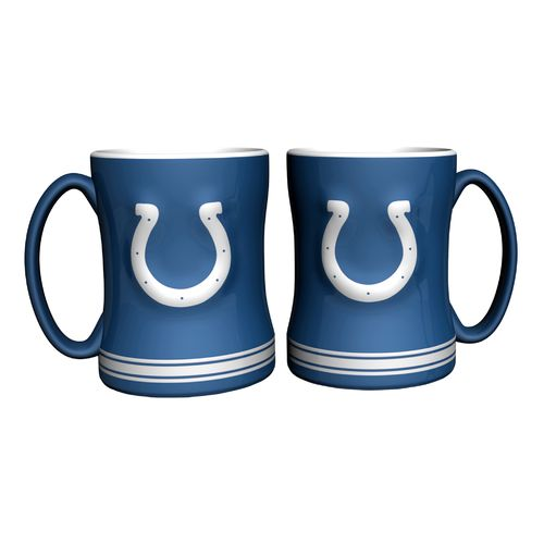 Boelter Brands Indianapolis Colts 14 oz. Relief Mugs 2-Pack