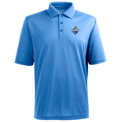 Antigua Men's Kansas City Royals World Series Champs Piqué Xtra-Lite Polo Shirt