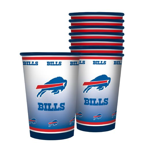Boelter Brands Buffalo Bills 20 oz. Souvenir Cups 8-Pack
