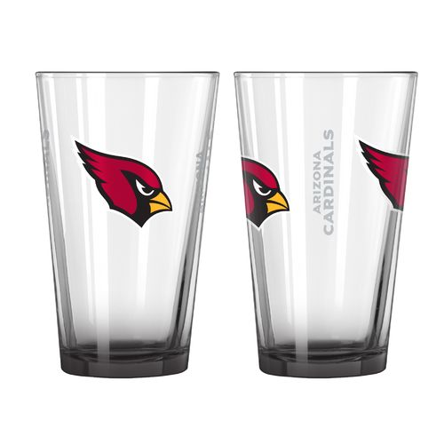 Boelter Brands Arizona Cardinals Elite 16 oz. Pint Glasses 2-Pack