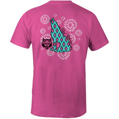 Image One Women's Arkansas State University Fireworks Comfort Color T-shirt