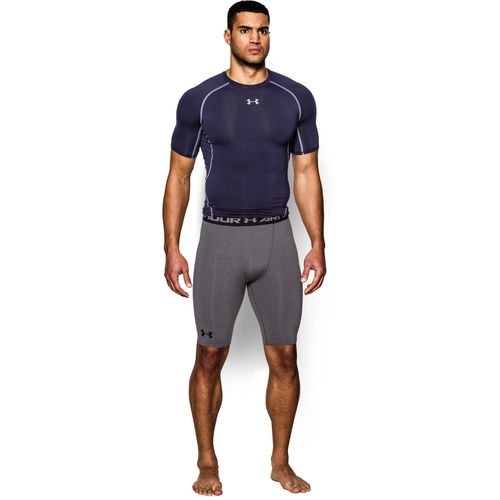 Under Armour Men's HeatGear Long Compression Short - view number 4