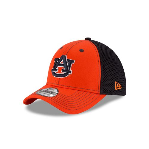 New Era Men's Auburn University 39THIRTY Team Color Cap