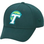 Top of the World Adults' Tulane University Premium Collection Memory Fit™ Cap - view number 1