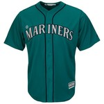 Majestic Men's Seattle Mariners Robinson Cano #22 Cool Base Replica Jersey - view number 2