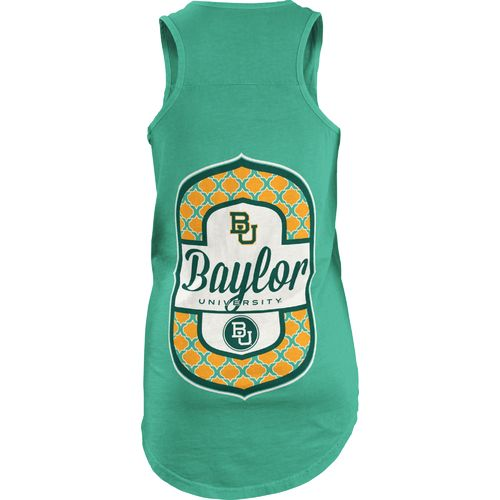 Three Squared Juniors' Baylor University Antoinette Tank Top