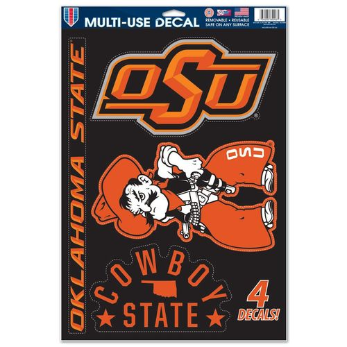 WinCraft Oklahoma State University Multiuse Decal