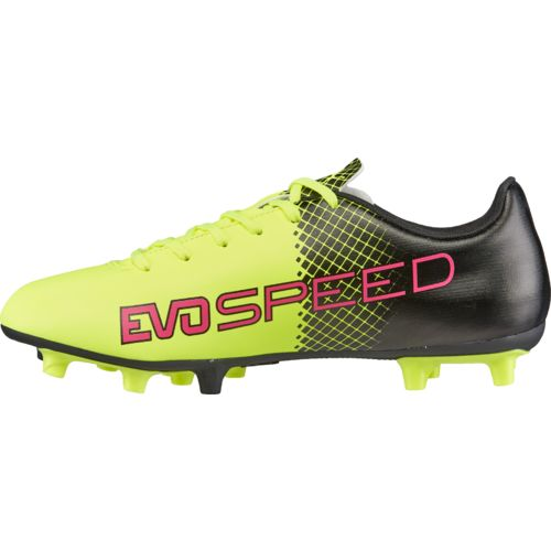 PUMA Kids' evoSPEED 5.5 Tricks FG JR Soccer Cleats