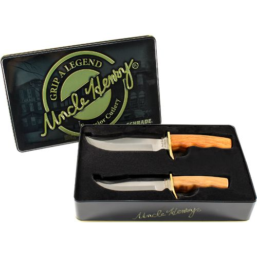 Uncle Henry 2-Piece Fixed-Blade Knife Set