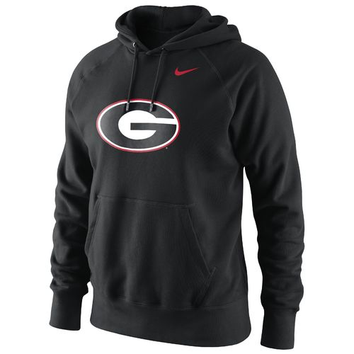 Nike Men's University of Georgia Classic Logo Hooded Fleece