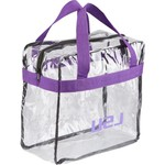 Forever Collectibles™ Louisiana State University Clear Messenger Bag - view number 1